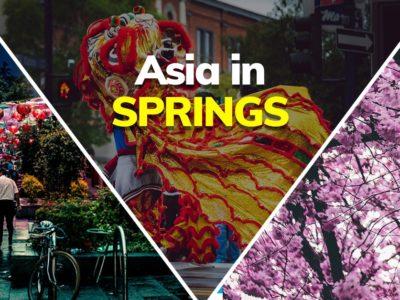 Asia in spring