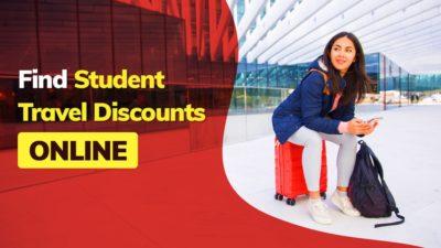 Student Travel Discounts online