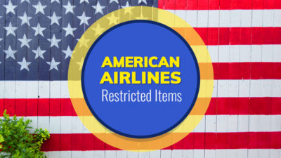 American Airlines Restricted Items