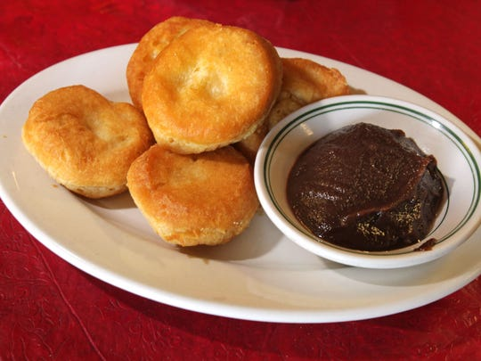 Fried Biscuits and Apple Butter- Indiana