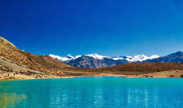 Dhankar lake - Himachal Pradesh